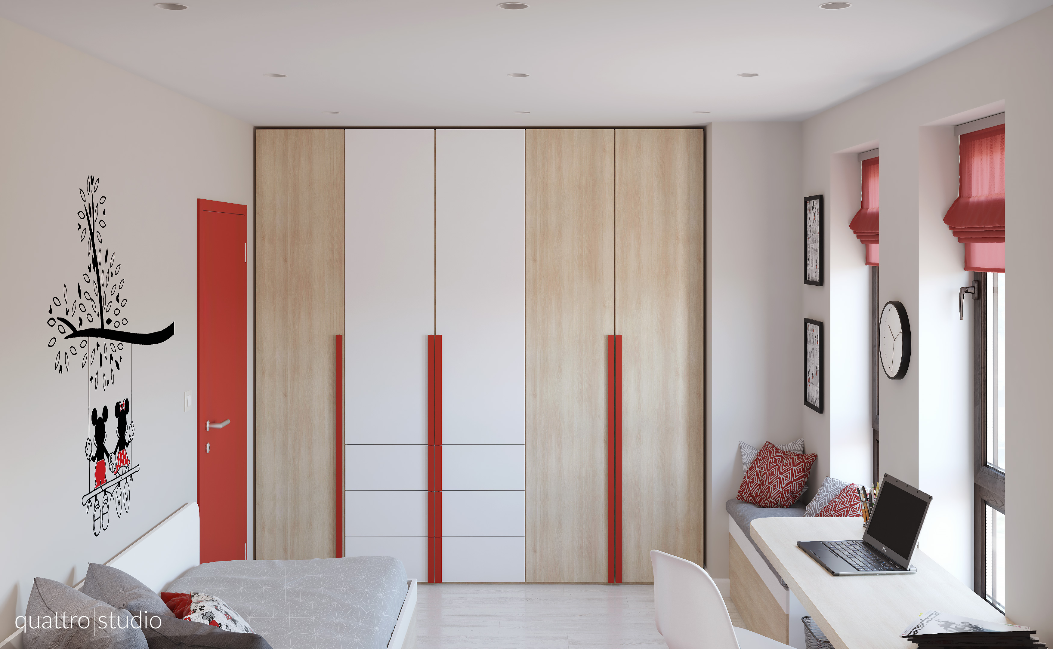 Interior design of apartment 90m2 children s room for 90m2 apartment plans
